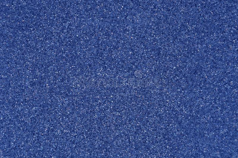 Blue foamed rubber. Close up as background royalty free stock images