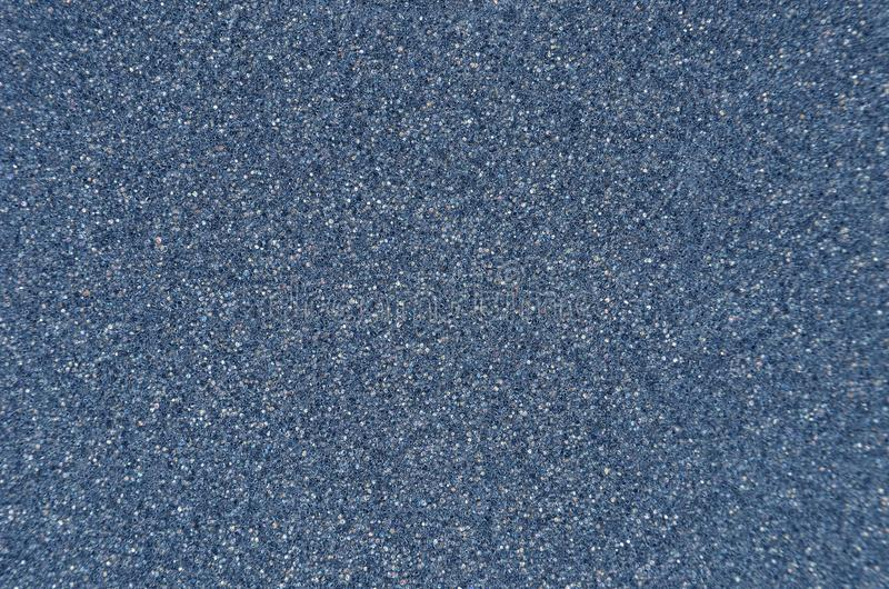 Blue foamed rubber. Close up as background royalty free stock photo