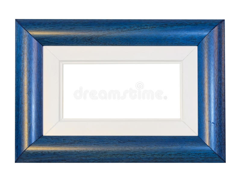 Blue Frame Panorama Stock Photo
