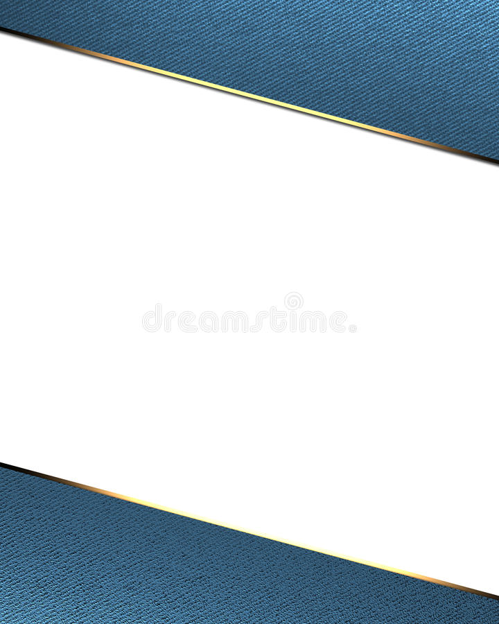 Blue frame on white background. Template for design. copy space for ad brochure or announcement invitation.  vector illustration