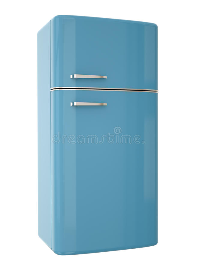 Blue Fridge Stock Photos