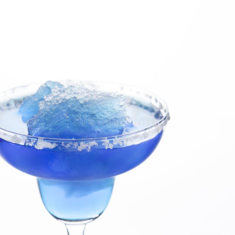 Blue Frozen Iceberg Margarita royalty free stock photography