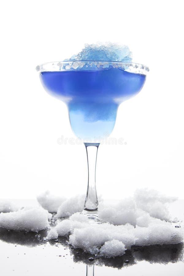 Blue Frozen Iceberg Margarita royalty free stock image