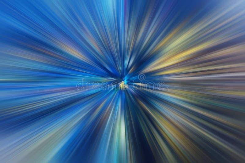 Blue futurist moving effect business high speed stock illustration
