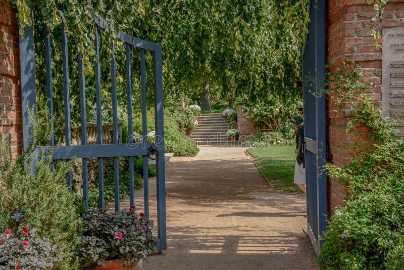 Garden Gate royalty free stock photography