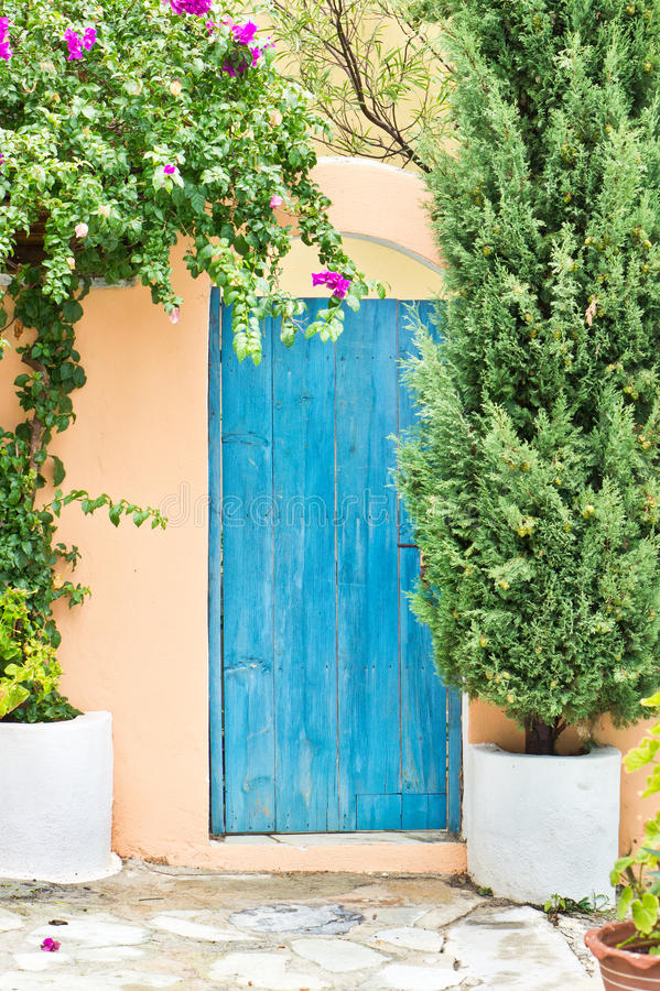 Free Blue Gate Stock Images - 45660454