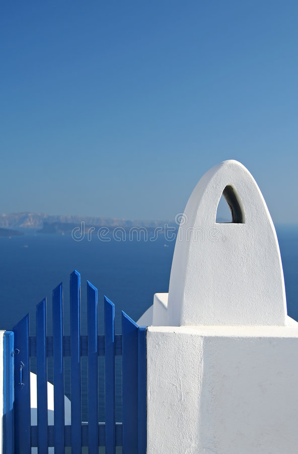 Free Blue Gate Stock Image - 956751