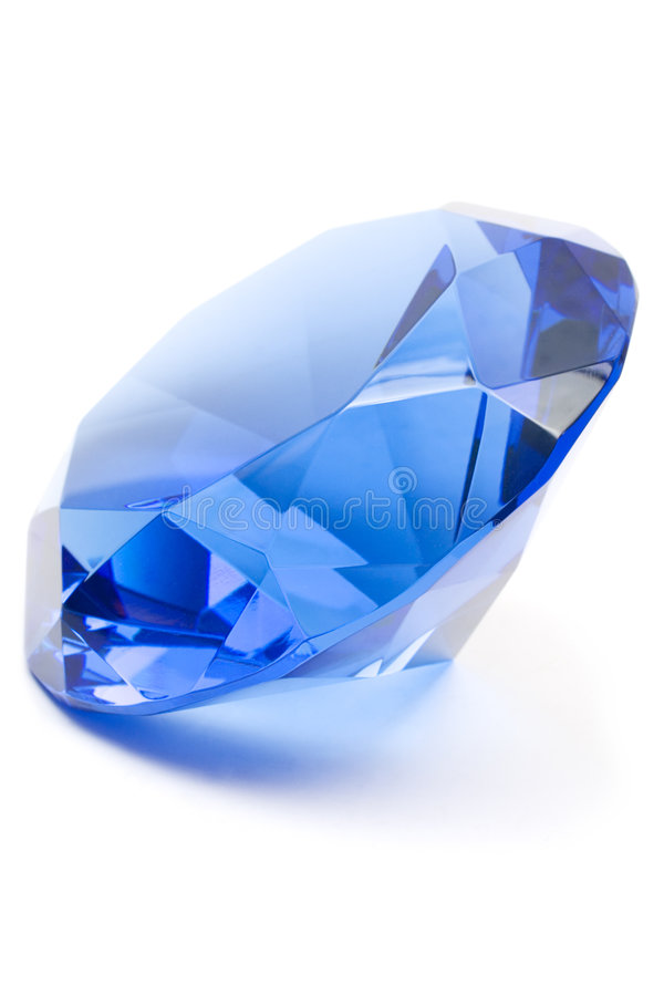 Free Blue Gemstone Royalty Free Stock Image - 1312236