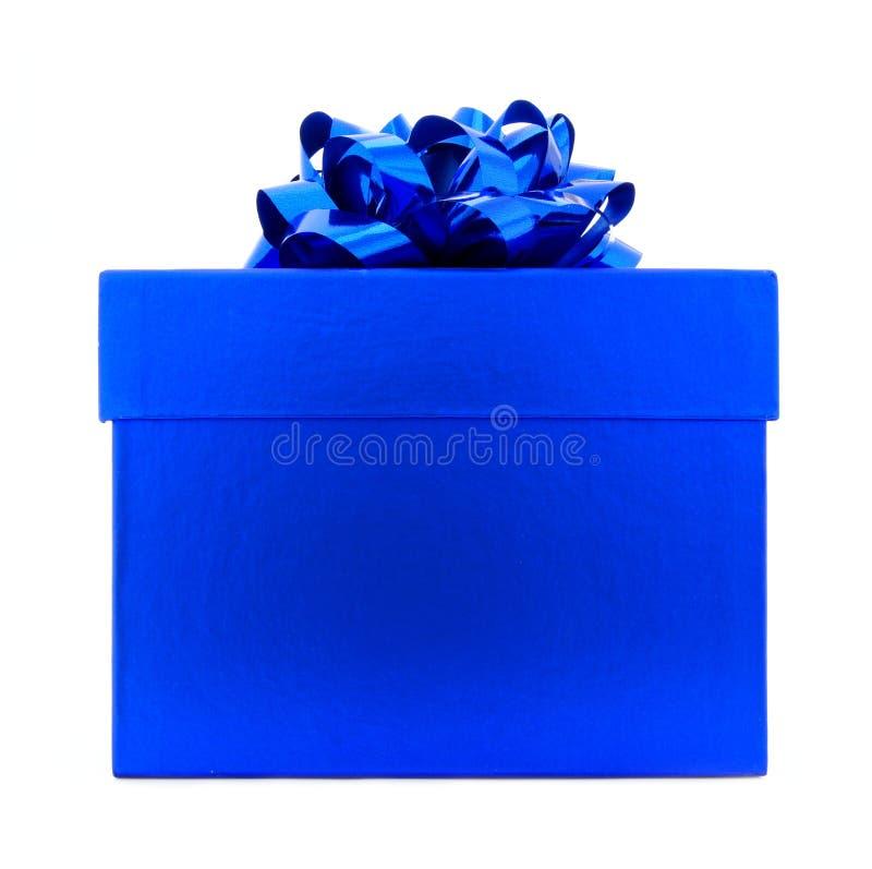 Download Blue Gift Box stock photo. Image of celebration, decoration - 22009090