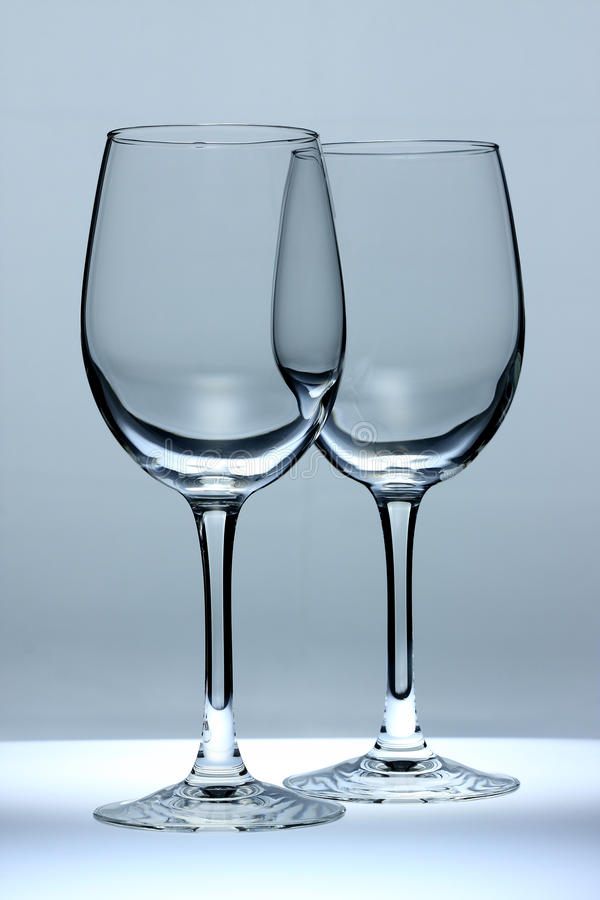 Blue Glass stock image