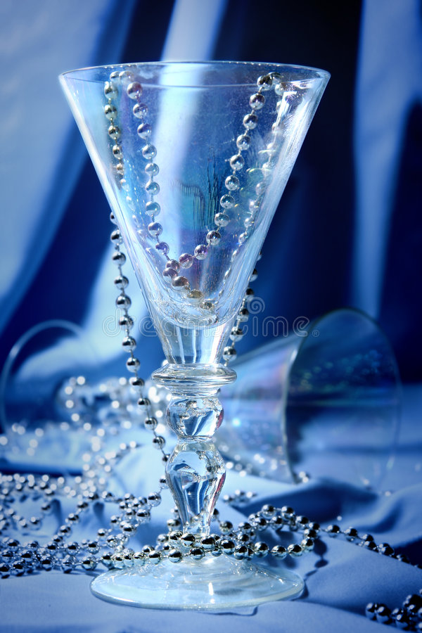 Blue glass stock images