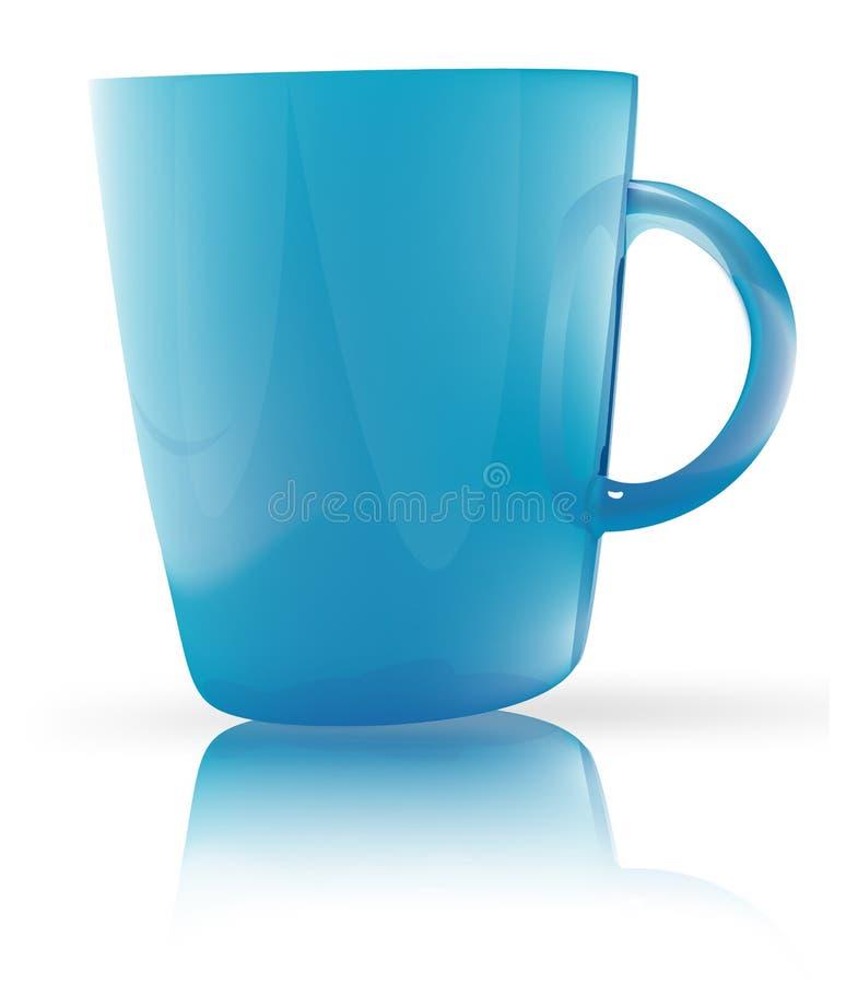 blue glass stock illustrationer