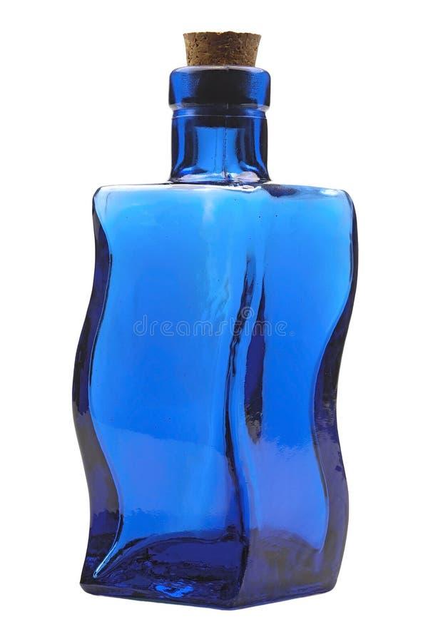 Free Blue Glass Bottle Stock Image - 18407731