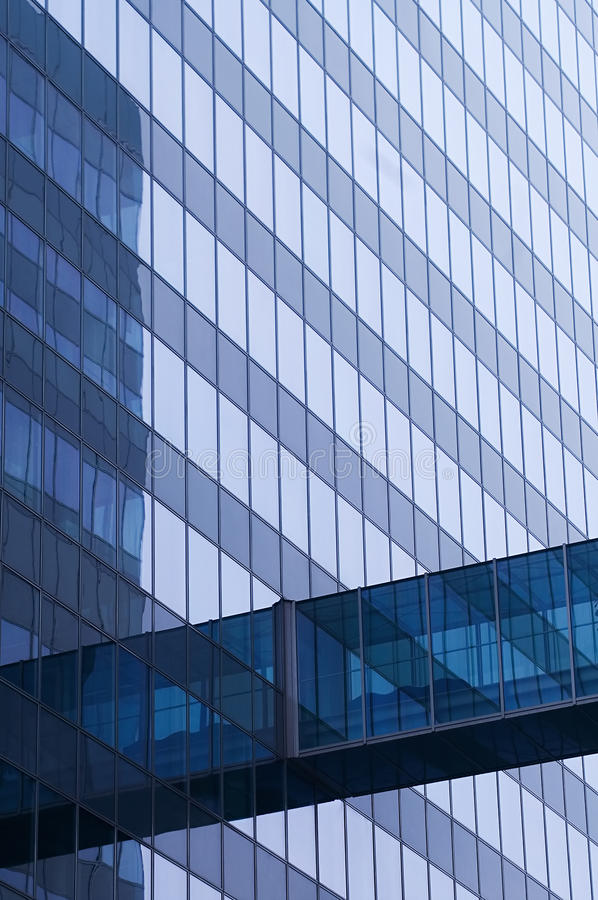 Download Blue Glass Wall Of Skyscraper Stock Image - Image: 17657989