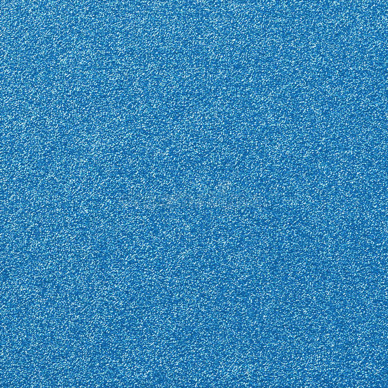 Blue Glitter Glam Paper stock photo