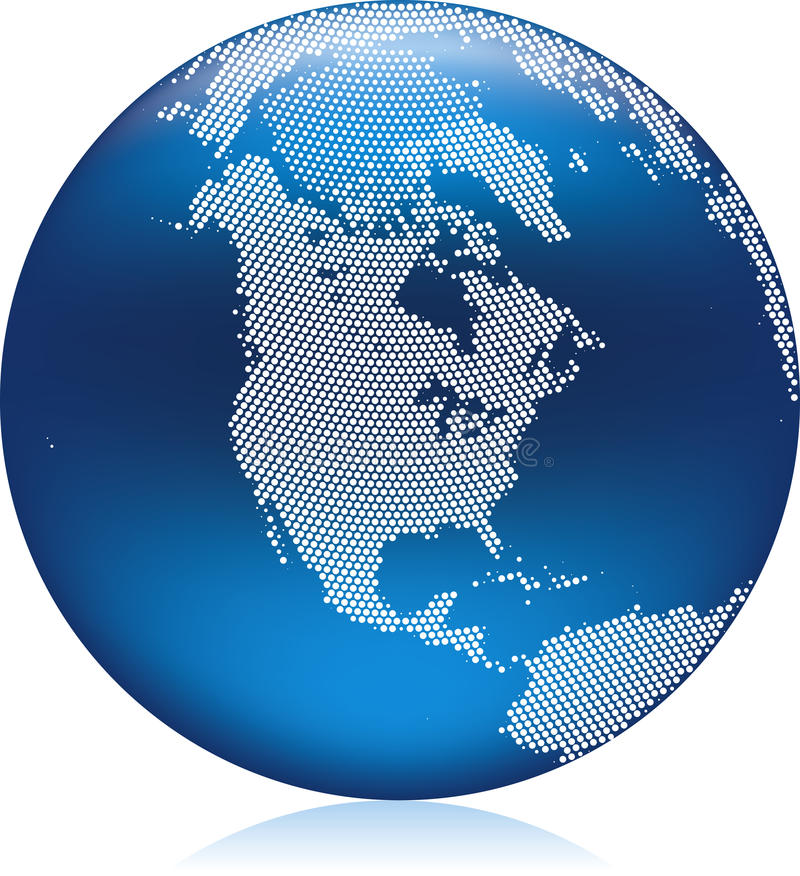 Download Blue Globe stock vector. Image of global, graphic, geography - 12002381