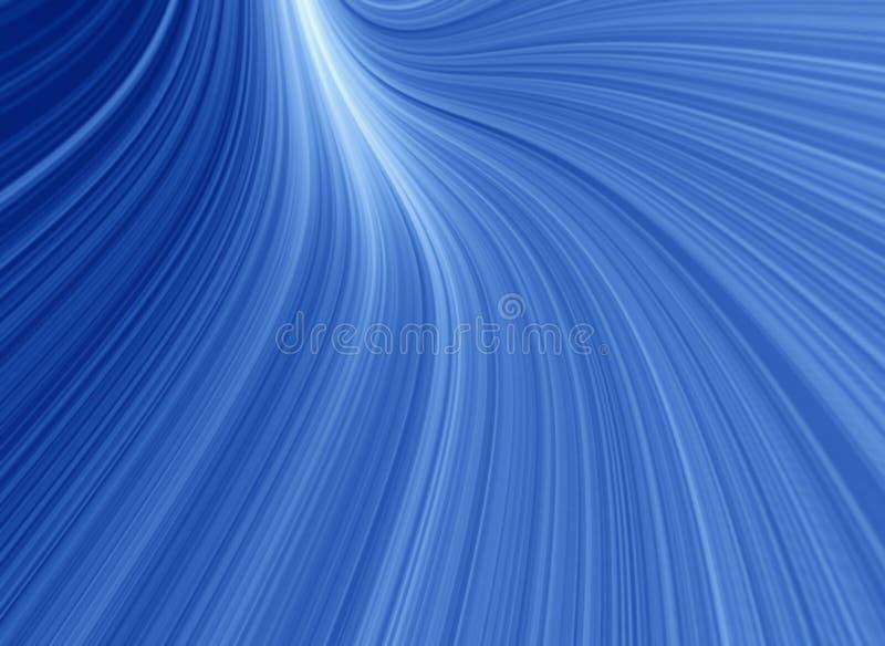 Blue glow background stock illustration