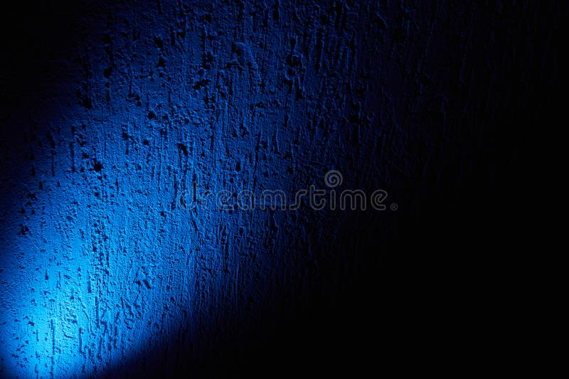 Blue Glow Of Light On A Black Background Stock Photo - Image Of Color,  Lamps: 164736268