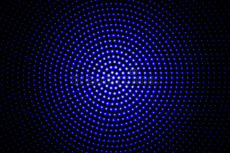 Blue glowing techno background vector illustration