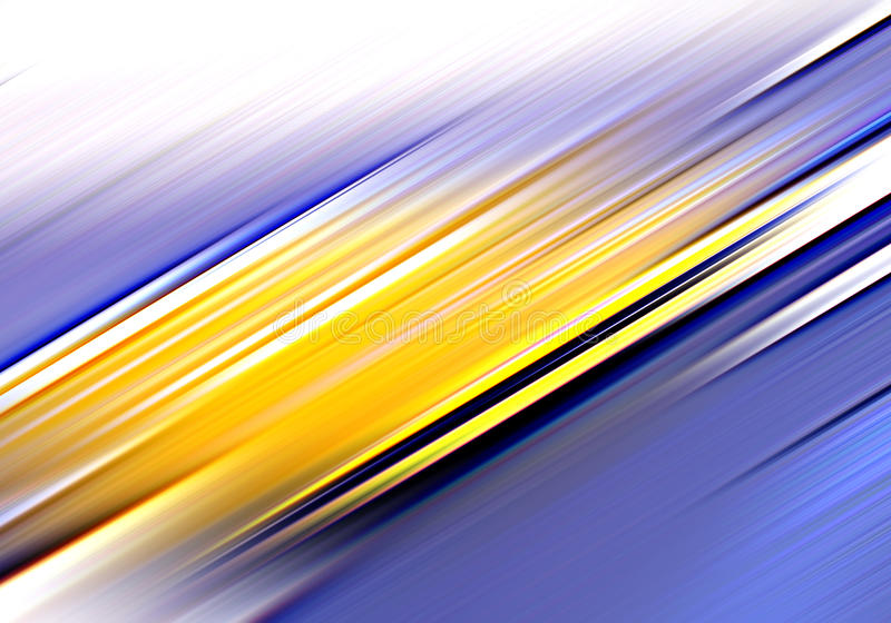 Download Blue and gold abstract stock illustration. Illustration of bluish - 10044874