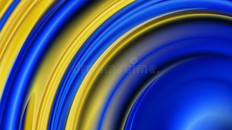 Blue and Gold  DesignBeautiful elegant Illustration graphic art design Background. Blue and Gold Background Design Beautiful elegant Illustration graphic art stock illustration