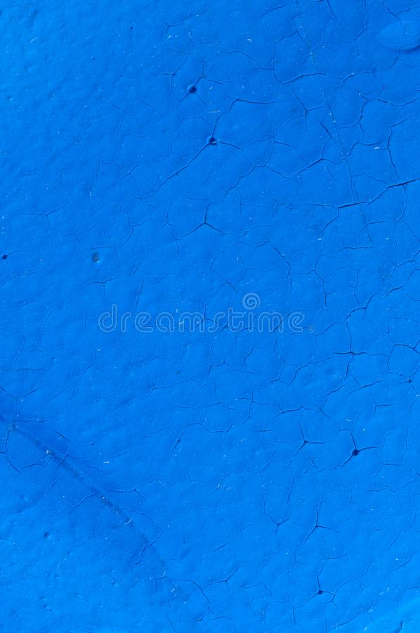 Blue gouache color, image detail. Apprehend abstract painting, printmaking, brilliant blue gouache watercolor on white, image detail royalty free stock image