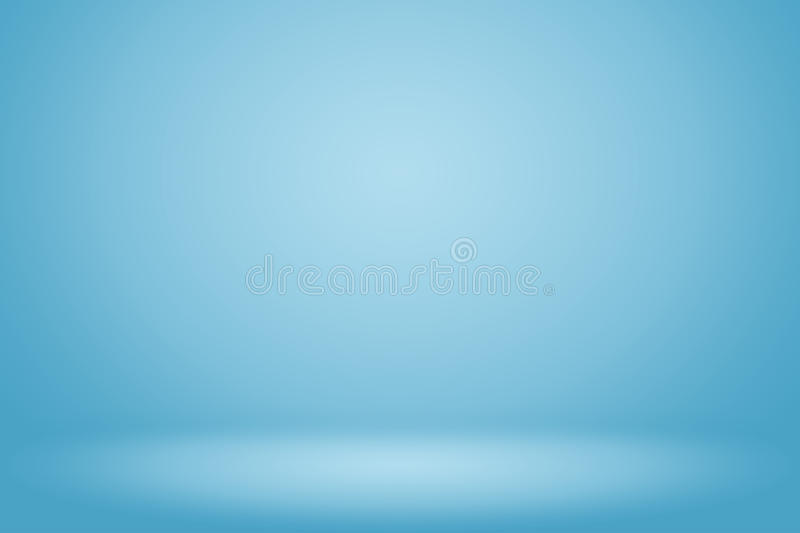 Blue gradient abstract background stock illustration