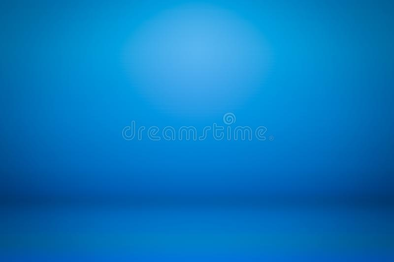 Blue gradient backdrops. Display product background. Texture royalty free stock image