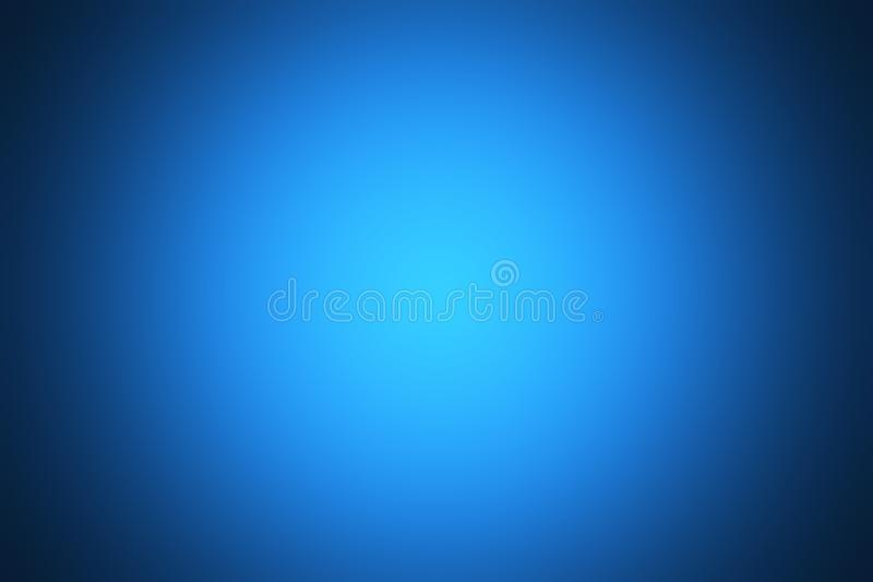 Blue gradient background royalty free illustration