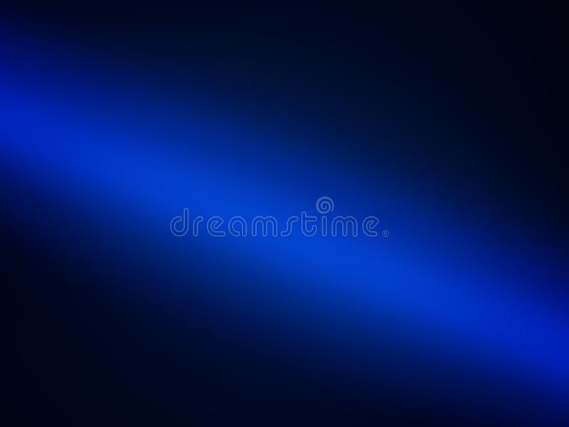 Blue gradient background, abstract illustration of deep water. Beautiful Blue gradient background, abstract illustration of deep water stock illustration