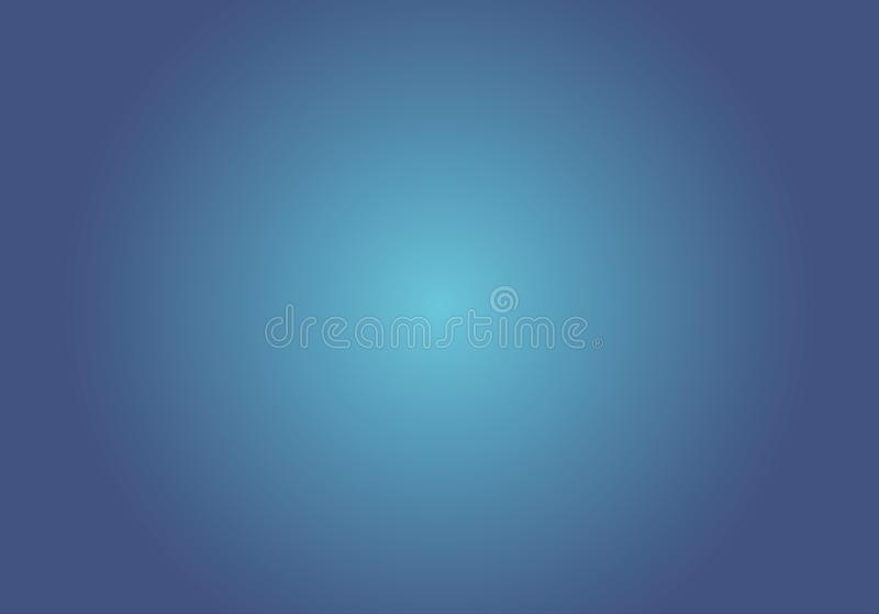 Blue gradient color background, illustration royalty free illustration