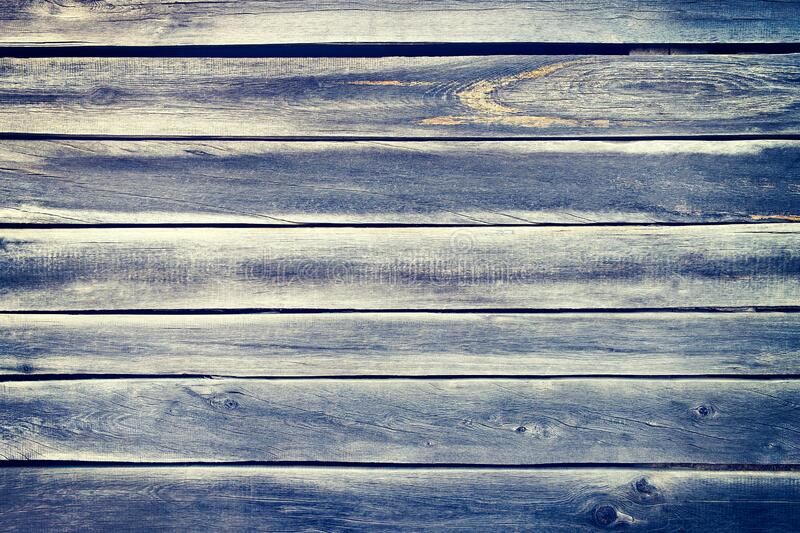 Blue gray wood plank texture surface as background stock photography
