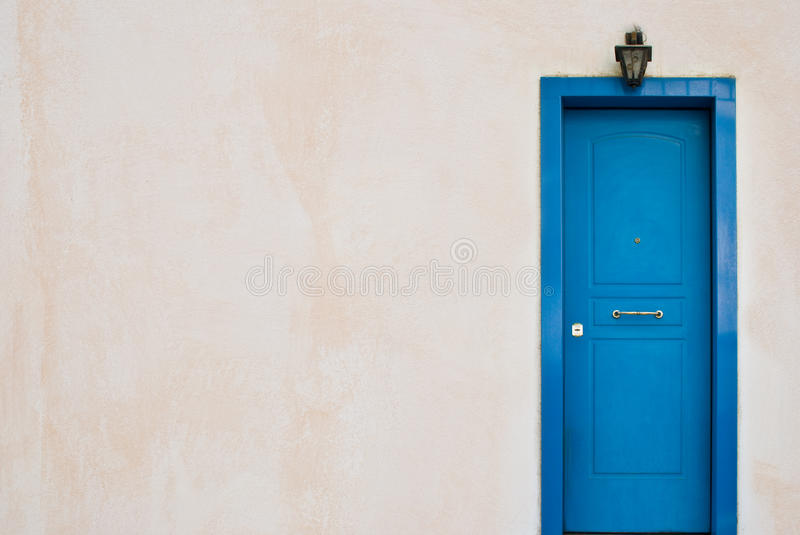 Download Blue Greek door stock photo. Image of closed, architecture - 11230774