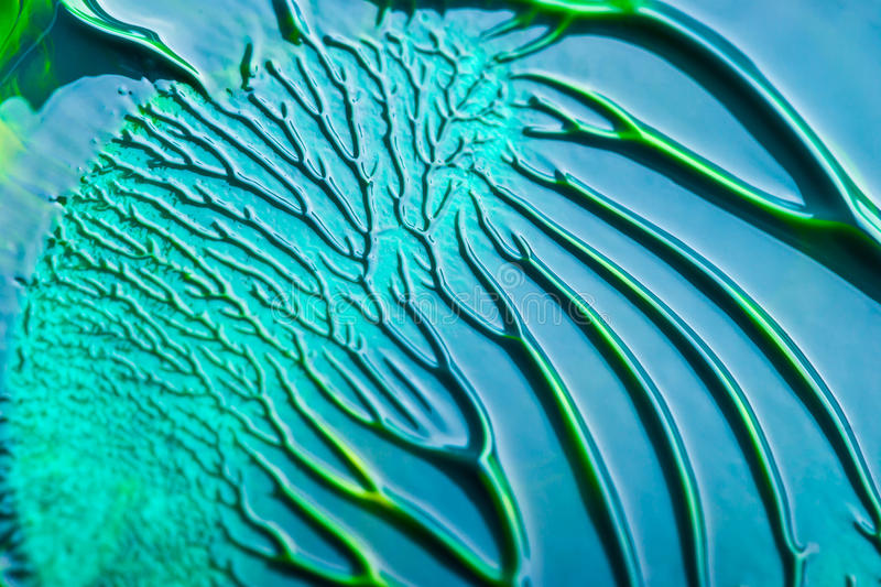 Blue and green abstract royalty free stock photos