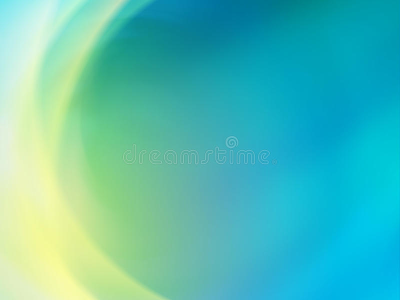 Blue-green Abstract Background royalty free illustration