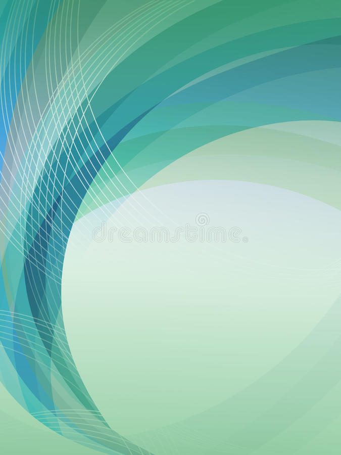 Download Blue Green Abstract Background Stock Illustration - Image: 15744538