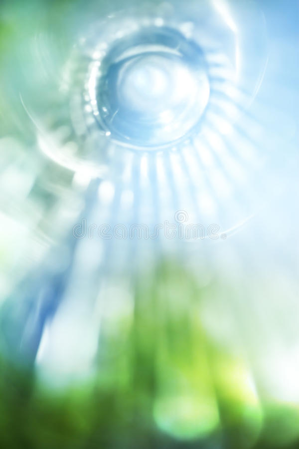 Blue and green background stock image