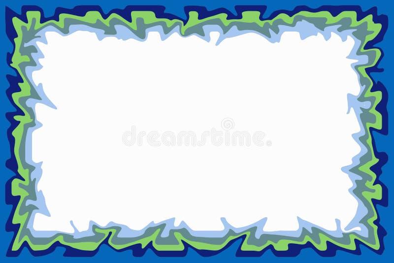 Download Blue green border stock illustration. Illustration of design - 510509