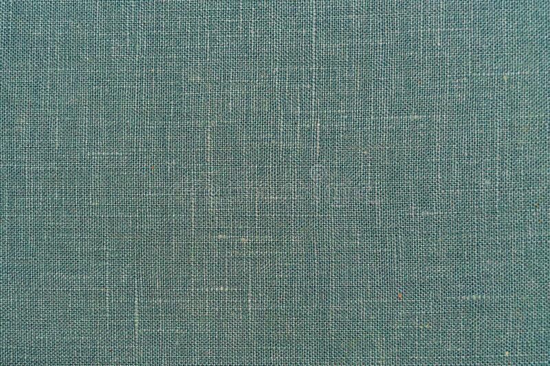 Blue green cotton textile background texture. light blue turquoise color.  stock photography