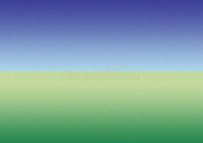 Blue, green gradient background wallpaper design royalty free illustration