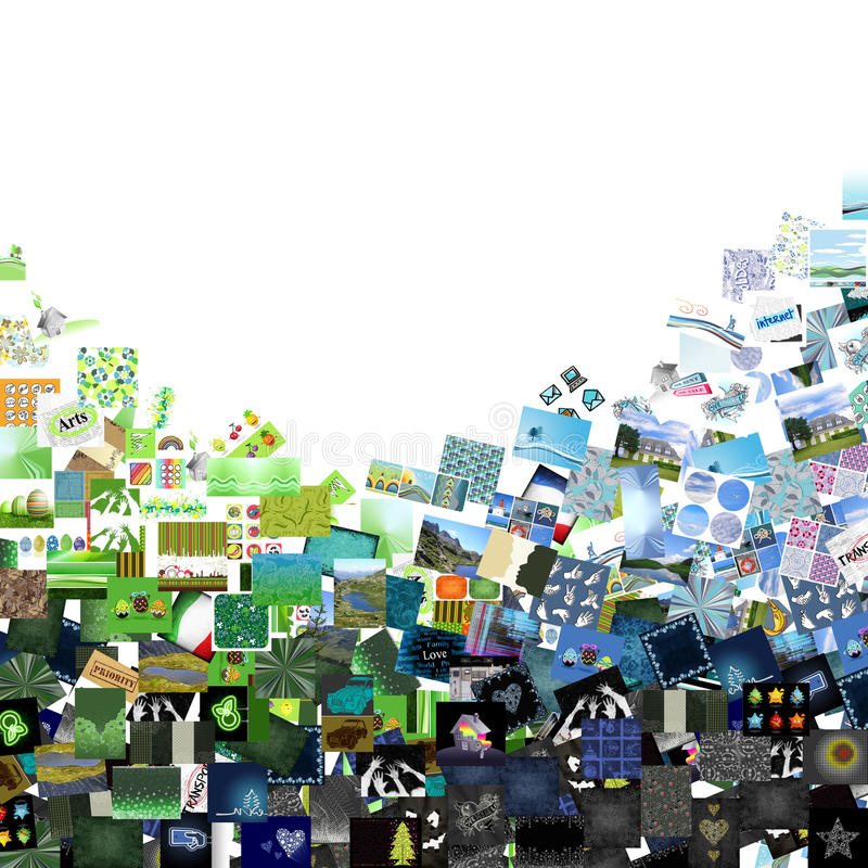 Download Blue & green images stock illustration. Image of abstract - 18442902