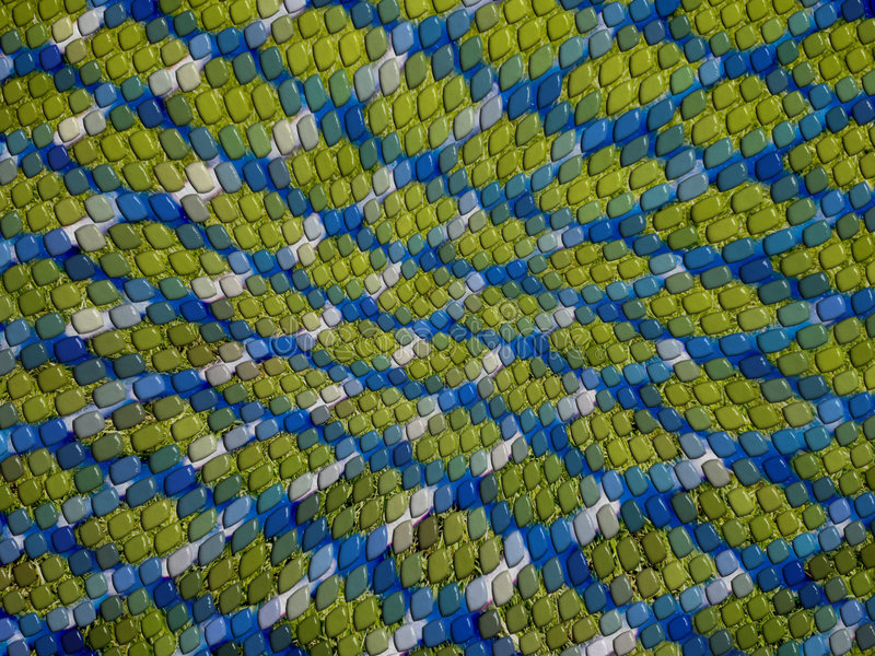 Download Blue And Green Lizard Skin Background Stock Photo - Image: 1418104