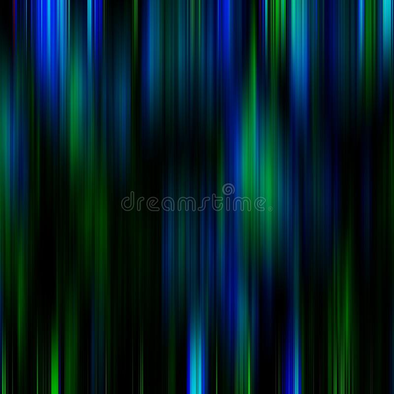 Blue and green mysterious abstract background stock illustration