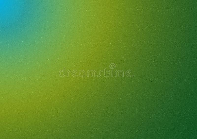 Blue green plain background gradient wallpaper. For use with text or images stock images