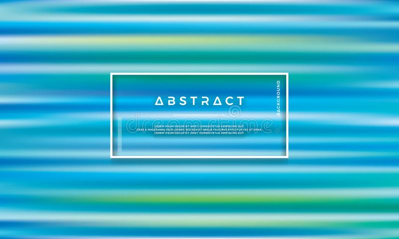 Blue green, trendy abstract vector background. Colorful texture background stock illustration