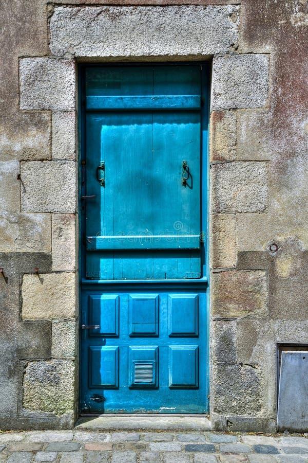 Blue, Green, Wall, Door stock photos