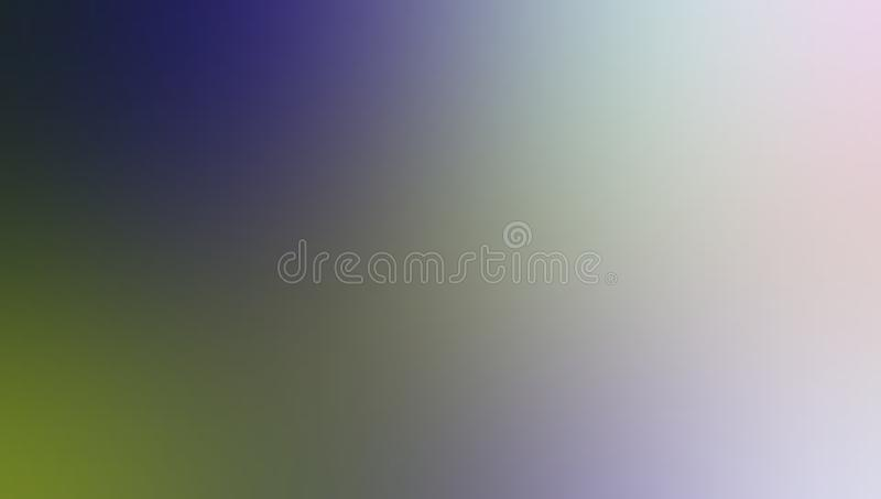 Blue green and white pastel color shaded blur background wallpaper. stock illustration