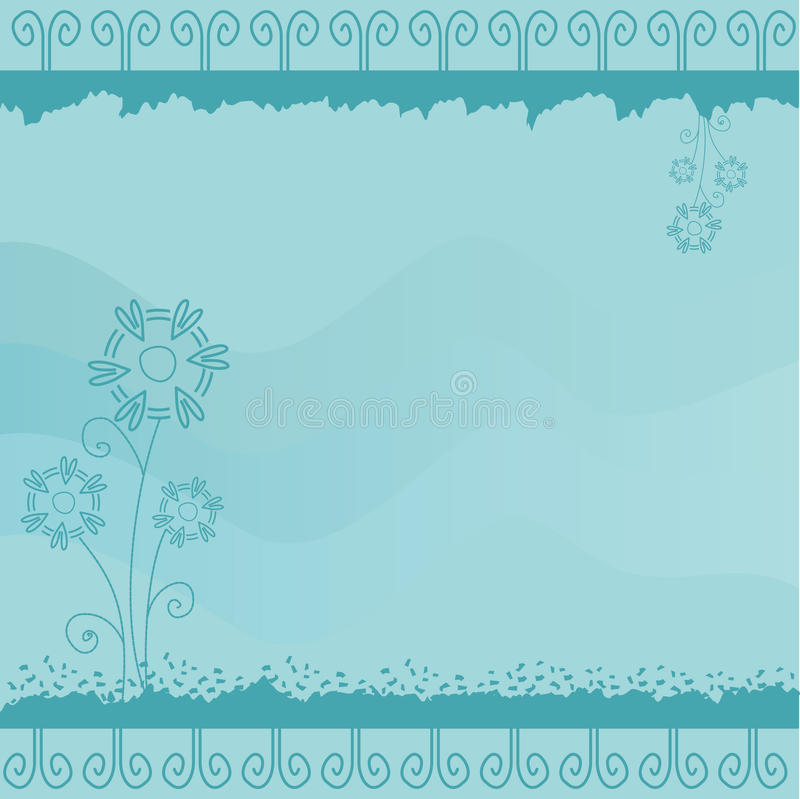 Download Blue Greeting Card Royalty Free Stock Photo - Image: 20789985