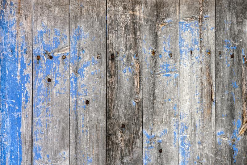 Blue and grey old wooden boards. Background and backdrop concept royalty free stock photography