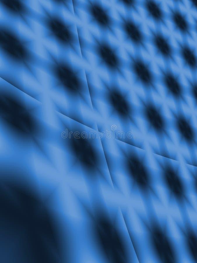 Blue grid background royalty free illustration